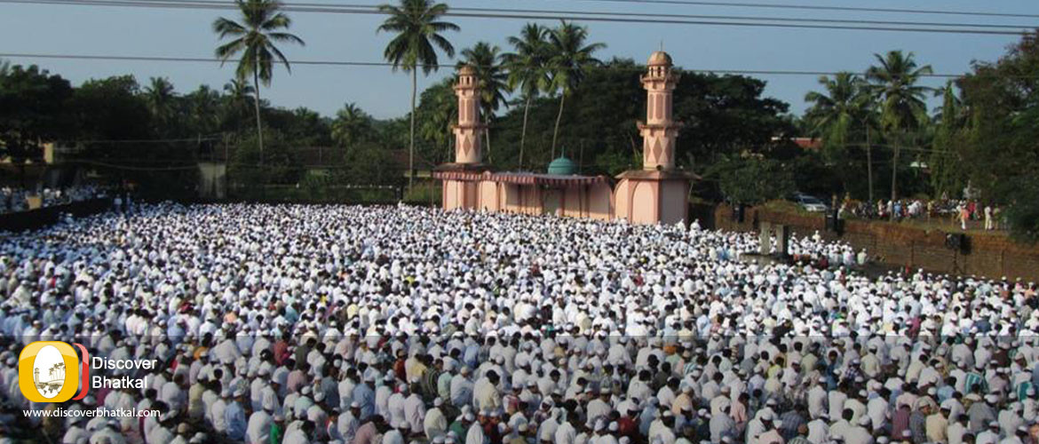 Eid ul Adha Prayer In Eidgah Bhatkal Town