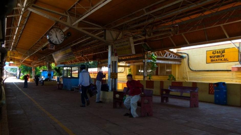 bhatkal_railway station