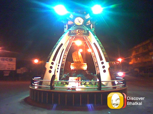 bhatkalshamshuddincircle-nightview